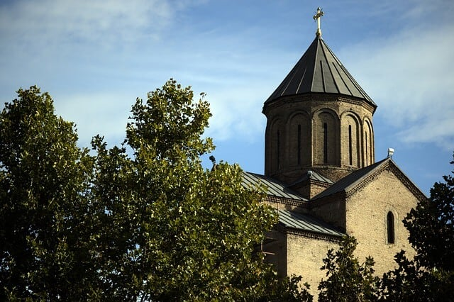 The Armenian Cathedral of St. George in Tbilisi